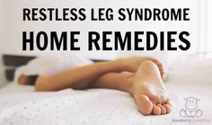 Creepy crawly misery. That was my experience until I used these home remedies that calmed my restless legs.