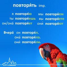 ENG repeat DEU wiederholen FRA répéter SPA repetir ITA ripetere  |  Russian Grammar Lesson: Russian Verbs