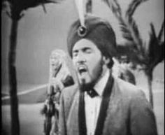 SAM THE SHAM AND THE PHARAOHS singing WOOLY BULLY from 1965. This was always a popular party song that would always fire up the audience, that's something that today's music is lacking...