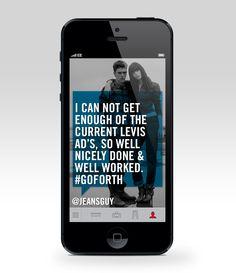 Levis App on Behance