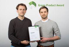 heimgruen bei der Preisverleihung des Green Product Awards  #Berlin #Green Product Award #Preisverleihung