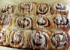 Tasty Cinnamon buns Recipe -  Yummy this dish is very delicous. Let's make Tasty Cinnamon buns in your home!