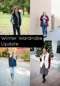 How To Update Your Winter Wardrobe with these 7 pieces with tips from some of my favorite fashion bloggers!