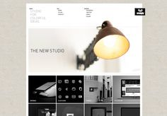 Clean site, all about the imagery