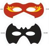 Image Detail for - Superhero Mask | Printable Templates & Coloring Pages | FirstPalette .