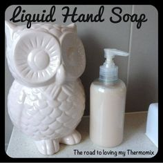 """Originally posted on our Facebook Page 26th November, 2014.   It worked!!! Now this is the cheats version of liquid hand soap. I will work on one """"from scratch"""" once this is all gone. I was experimenting with a craft recipe the other day that ended up being a"""