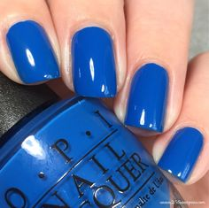 OPI Super Trop-i-cal-i-fiji-istic Perfect Nails, Gorgeous Nails, Pretty Nails, Colorful Nail Designs, Nail Art Designs, Nail Manicure, Nail Polishes, Manicures, Hot Nails