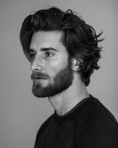 10 Short Haircuts For Men Hairstyle Ideas Medium Length Hair Men, Long Hair Cuts, Medium Hair Styles, Men Long Hair, Man With Long Hair, Short Hair, Long Hair Beard, Men Hair, Hair And Beard Styles