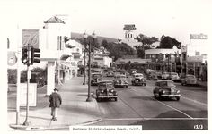 Orange County California, Buy Photos, Laguna Beach, Historical Society, Pulley, Digital Image, Postcards, Street View, History