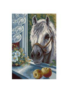 Kreuzstich horse 4