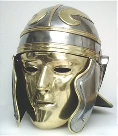 roman war mask