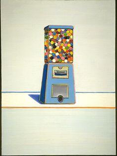 Blue Vendor - Wayne Thiebaud, 1963