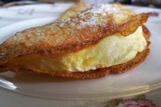 La crêpe soufflée à la Mandarine Napoléon, un plaisir aussi gourmand qu'éphémère ! Une recette du dossier A la chandeleur, crêpes à toute heure !