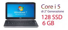 """"""""""""""" PROMO NOVITA'"""""""""""" Notebook dell latitude 5420 core i 5 2520w 2500 mhz 6 GB 128 SSD  con windows 7 pro -web cam -wifi- schermo da 14"""".4 -come nuovo -garanzia 180 giorni"""