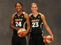 Katie Douglas and teammate Tamika Catchings, were voted as starters for the 2011 WNBA All-Star Game in San Antonio.