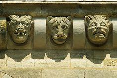 VEZELAY Basilique - Art roman Bourgogne, Auvergne, Limousin, Rhône Alpes