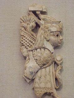 Ivory Panel Syro-Phoenician Nimrud 8th to 7th centuries BCE (4) | Flickr: Intercambio de fotos
