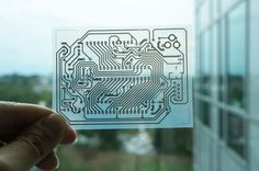 New technique to print ink-based electrical circuitry using a desktop printer By…