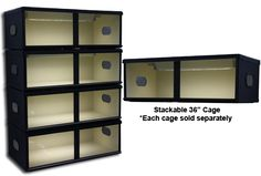 These are a great price. NPI Cages 36 inch Stackable Reptile cage Best Picture For Lizards anatomy For Your Taste … Terrariums, Reptile Terrarium, Bearded Dragon Habitat, Bearded Dragon Cage, Tortoise As Pets, Sulcata Tortoise, Reptile Room, Reptile Cage, Snake Breeds