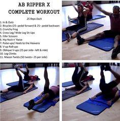 Ab Ripper X Workout