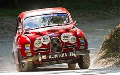 Saab 96 rally car - you don't see that every day! #Saab #RallyCar #Classic…