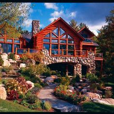 absolutely stunning large cabin