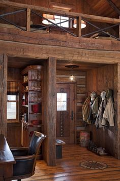 Living Photos Log Cabin Design, Pictures, Remodel, Decor and Ideas - page 5
