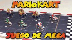 Juego de Mesa de Mario Kart, cómo se hace