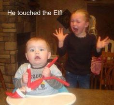He touched the Elf!