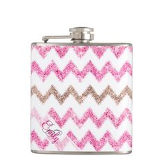 ==> reviews          Monogram Ikat Chevron Glitter Pink Brown Pattern Hip Flask           Monogram Ikat Chevron Glitter Pink Brown Pattern Hip Flask We have the best promotion for you and if you are interested in the related item or need more information reviews from the x customer who are own...Cleck link More >>> http://www.zazzle.com/monogram_ikat_chevron_glitter_pink_brown_pattern_flask-256731435080905270?rf=238627982471231924&zbar=1&tc=terrest