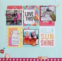 A Project by junglebarrya from our Scrapbooking Gallery originally submitted 08/10/13 at 04:35 PM