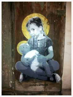 Street art. Paris belleville. Maudéa