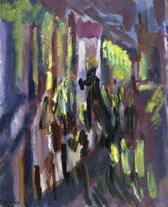 David Bomberg The Virgin of Peace in Procession through the Streets of Ronda, Holy Week 1935
