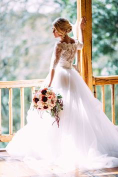 Lace and tulle ball gown   Love Chloe Lane