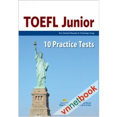 Toefl Junior - 10 Practice Tests (Kèm CD)