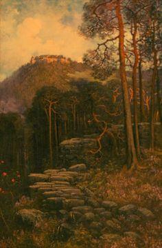 Le mont Sainte-Odile et le mur païen (Gustave Doré) Alsace, Saint Dominique, Art Moderne, Samhain, Ethereal, Illustrations, King Jr, Landscape, Photos