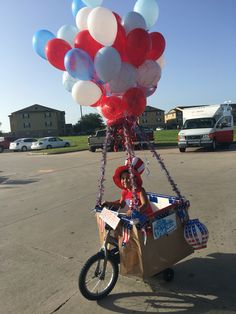 37 best Decorate your bike  images on Pinterest   Bike parade  Bike     4th of July bike parade 2016