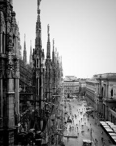 Duomo. Milan, Italy. 8/15