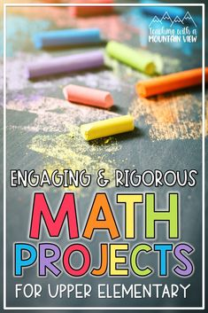 Have you started using math projects as a part of your regular upper elementary math instruction... because you should be! When I'm looking for rigorous practice that's so fun the students almost forget they're learning, I turn to math projects! Take a peek at how I incorporate real world math projects into our regular classroom routines. Teaching Numbers, Math Numbers, Teaching Math, Elementary Math, Upper Elementary, Classroom Routines, Singapore Math, Fourth Grade Math, Math Projects