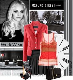 """""""Tricky Trend at Work"""" by roxy75 ❤ liked on Polyvore"""