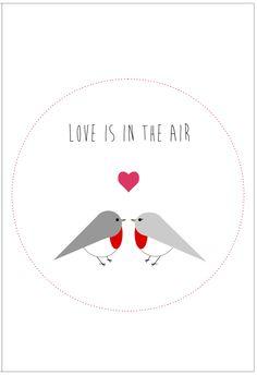 Gabulle in wonderland : carte à imprimer pour la Saint Valentin (printable card for Valentine's day)