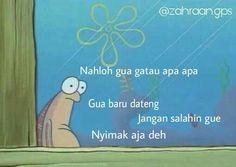 Memes Indonesia Nyimak 54 Ideas For 2019 Memes Funny Faces, Funny Kpop Memes, True Memes, Funny Relatable Memes, Funny Texts, Meme Meme, Funny Cartoons, Mean Humor, Drama Memes