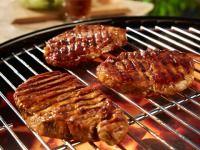 Vepřové steaky na grilu