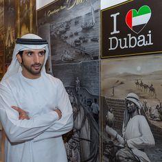 """Shk. Hamdan MRM, """"Art Dubai"""" (03/2014). Foto: Ali Essa"""