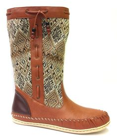 Look what I found on #zulily! Brown Sidony Boot #zulilyfinds
