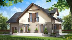 Dbając o estetykę i wygląd postawiliśmy na nowoczesne detale ozdobne, dzięki którym ten dom , wyróżni się na tle innych domów.