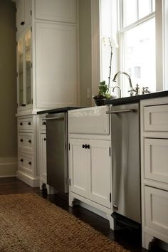 2 dishwashers - traditional kitchen by plantation building corp