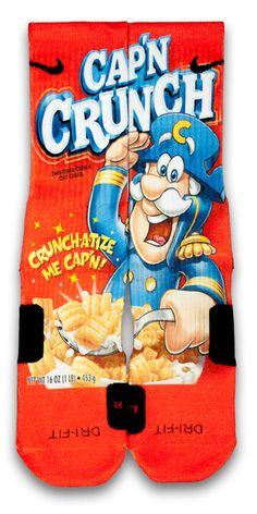 Captain Crunch Custom Elite Socks