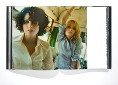 Preview New Book W: Stories Here - Amber Valletta and Shalom Harlow photographed by Craig McDean