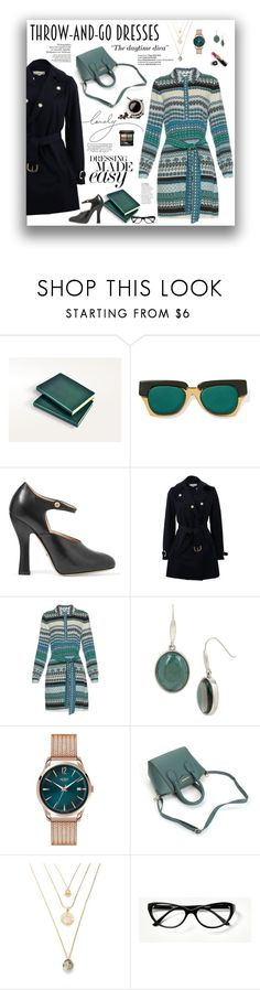 """""""Throw-and-Go Dress"""" by gailermels ❤ liked on Polyvore featuring Marni, Gucci, STELLA McCARTNEY, Diane Von Furstenberg, Kenneth Cole, Henry London, Sedgwick and Chanel"""